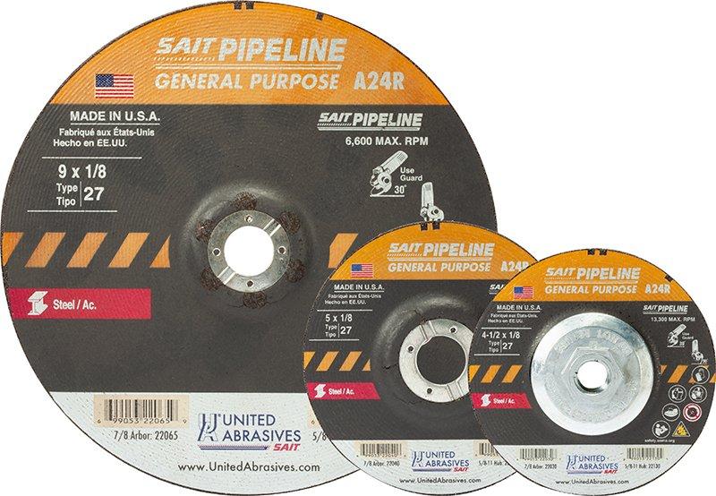 Category: 1/8″ Pipeline Wheels | United Abrasives