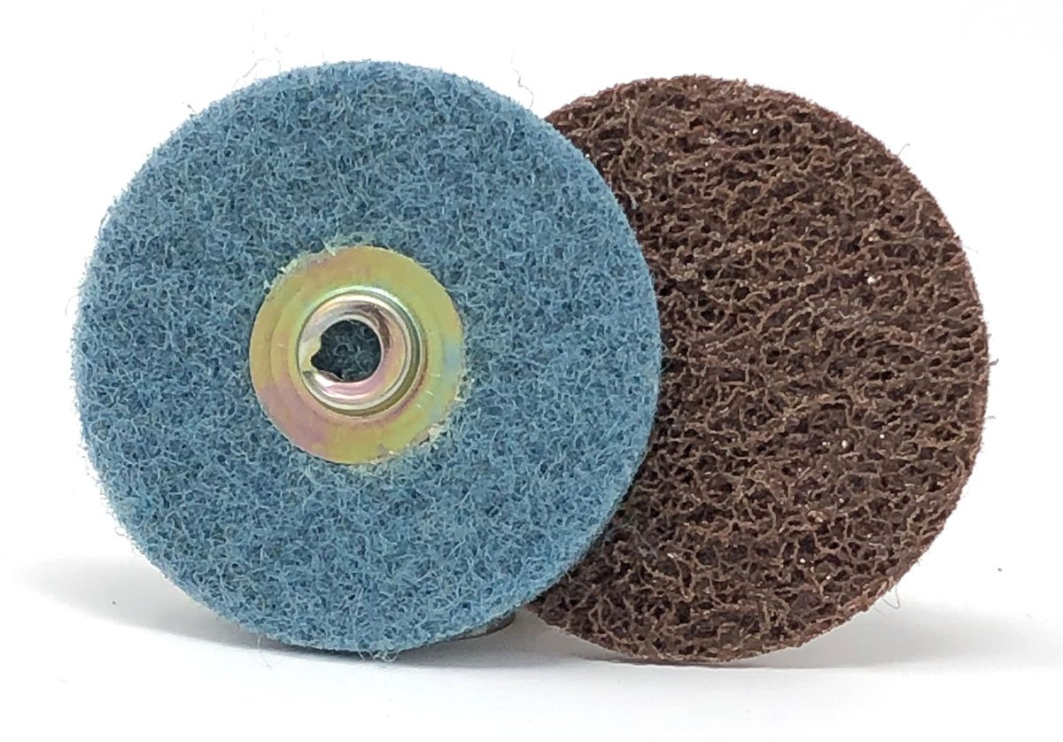United Abrasives-SAIT 55460 Heavy Duty SAIT-Lok-R Z 3-Inch 24X Laminated Disc 50 Pack