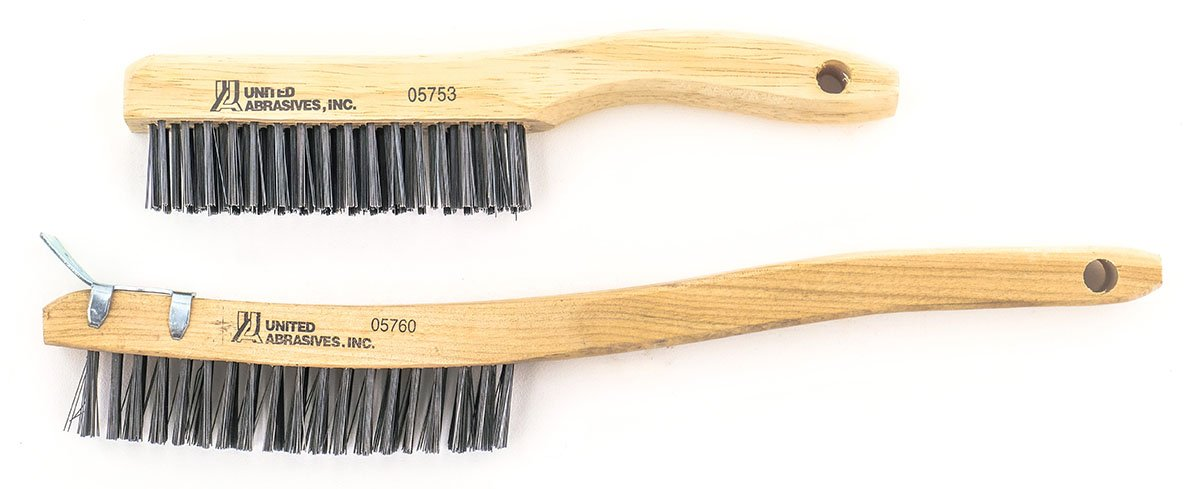 1-Pack United Abrasives-SAIT 06705 2.5-Inch by .014 Crimp Wire End Carbon Steel Brush